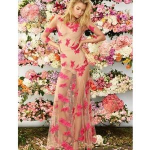 🤔🤔 For love and lemons orchid maxi paradise pink